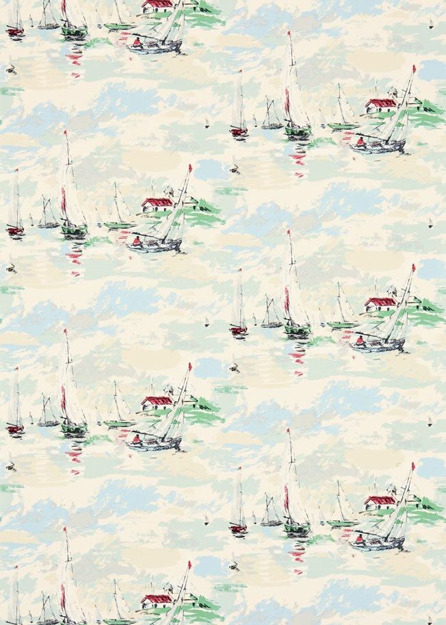 Sanderson Sail Away Sea Green