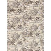 Sanderson Tally Ho Pearl/Grey tapet