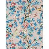 Sanderson Caverley Rose/French Blue tapet