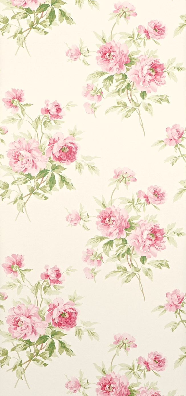 Sanderson Adele Rose/Cream tapet