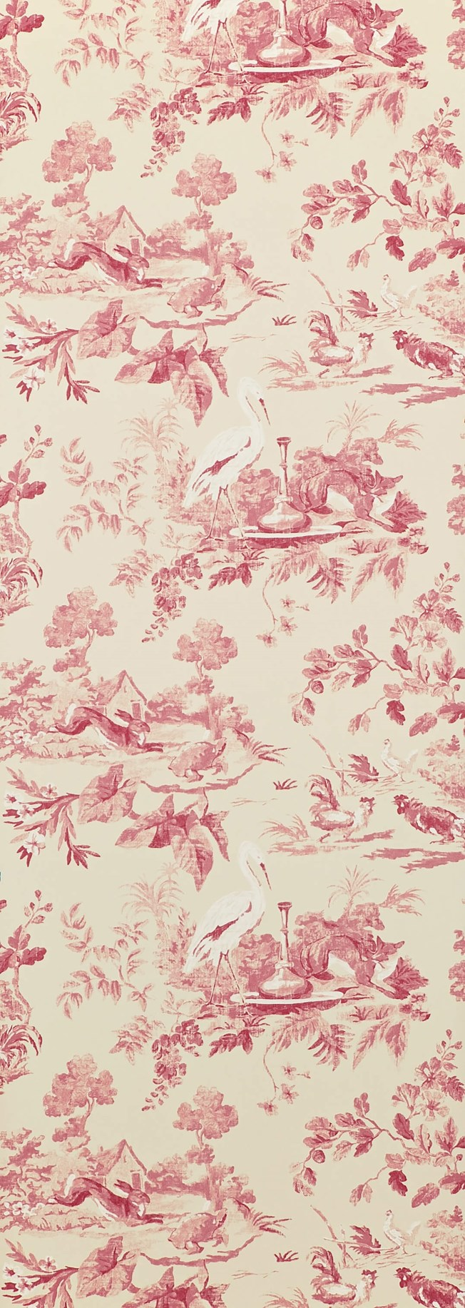 Sanderson Aesop's Fables Pink tapet