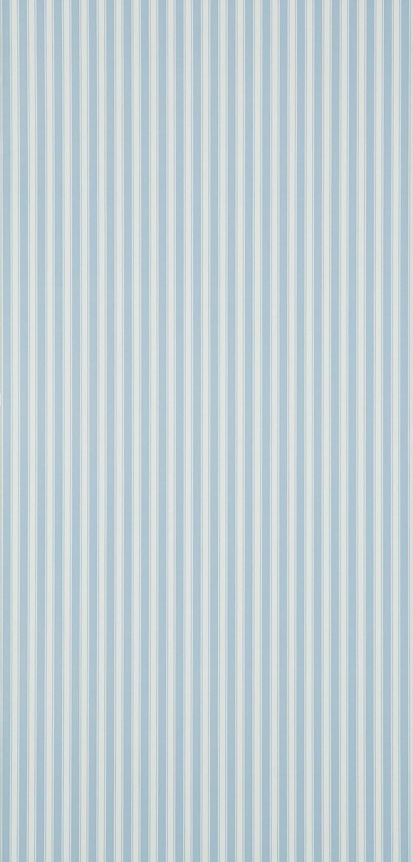 Sanderson New Tiger Stripe Blue/Ivory tapet