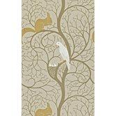 Sanderson Squirrel & Dove Linen/Ivory tapet