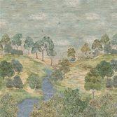 Designers Guild Bandipur Grasscloth Sky tapet