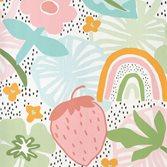 Midbec tapeter Doodleedo Strawberry field