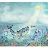 Midbec tapeter Doodleedo Ocean Friends Digigreen