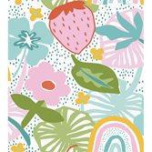 Midbec tapeter Doodleedo Strawberry field XL