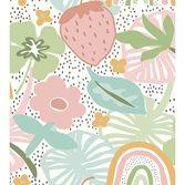 Midbec tapeter Doodleedo Strawberry field XL Digigreen