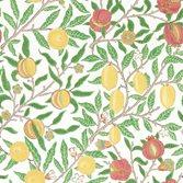 Morris & Co Fruit Leaf Green/Madder