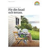 Beckers Beckers Färgkarta För din fasad och terrass 2019