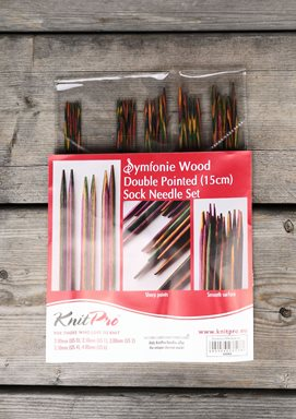 Symfonie Double Pointed Needle Set 15cm