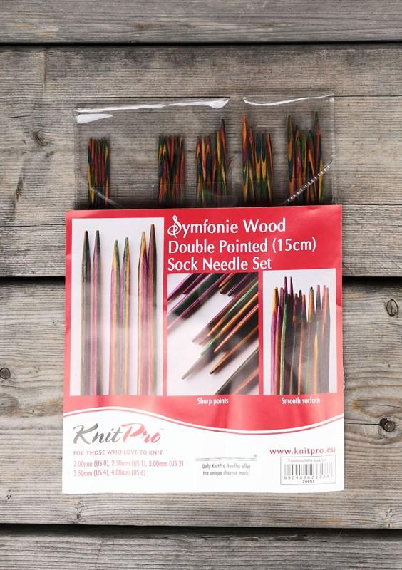 Symfonie Double Pointed Needle Set 15cm