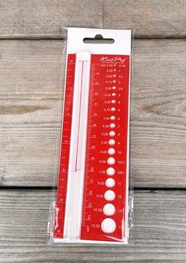 Stickmätare med Förstoringsglas