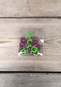 Split Stitch Ring Markers
