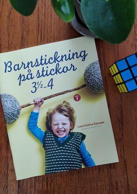Barnstickning på stickor 3½-4