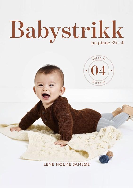Babystrikk på pinne 3½-4 - häfte 04