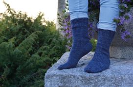 Tå-Upp-Socka med Fleegle Heel (91996)