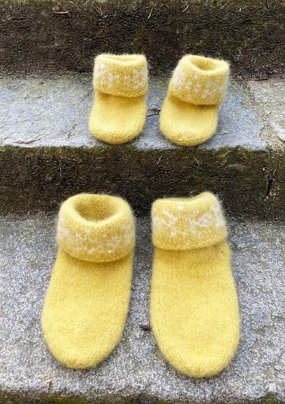Tova Snøkrystall Sokker