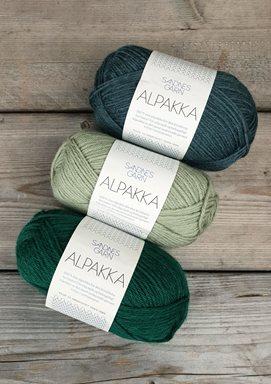 Alpakka - Utgående Färger