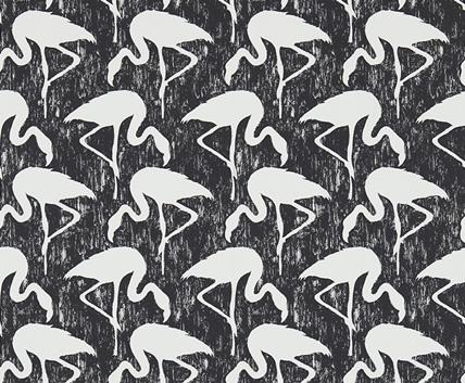 Tapet flamingo från Sanderson