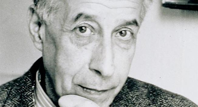 Josef Frank porträtt Svenskt Tenn