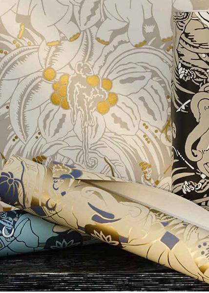 Art Deco tapet från Nobilis