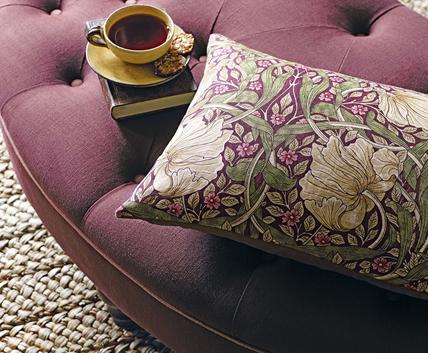Blommigt tyg - Pimpernel - Från William Morris