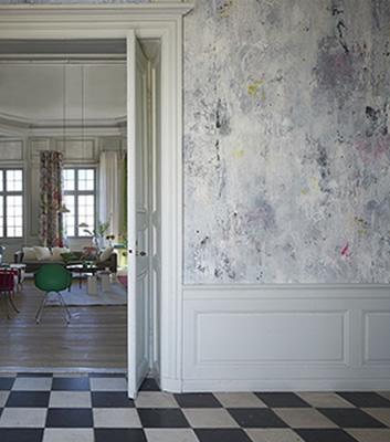 Industritapet - Jardin De Plantes - Från designers Guild