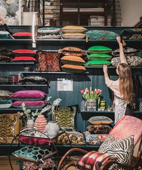 Inredningsbutik - Engelska Tapetmagasinet - Kuddar