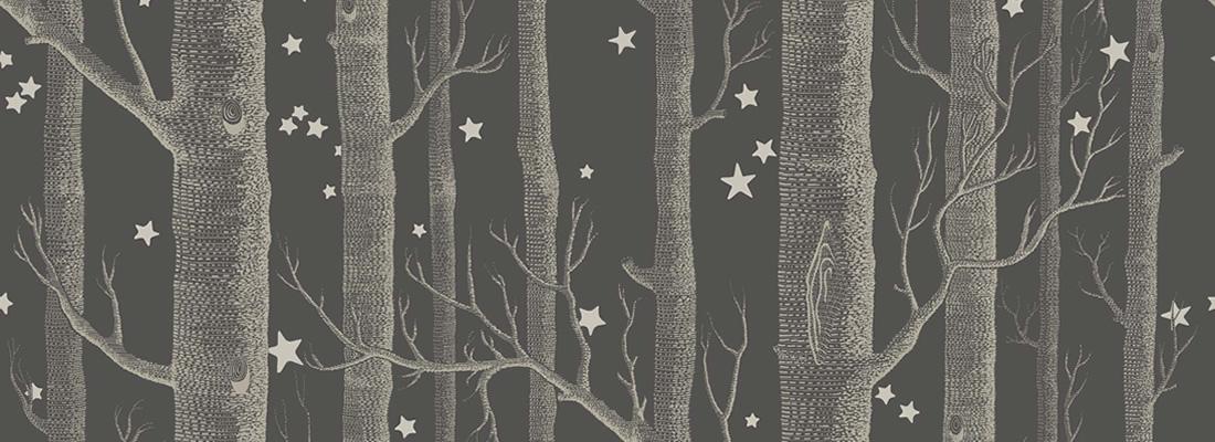 Tapet med stjärnor på från Cole & Son