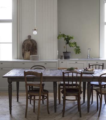 Beige tapet - Pure Linen - Från Boråstapeter
