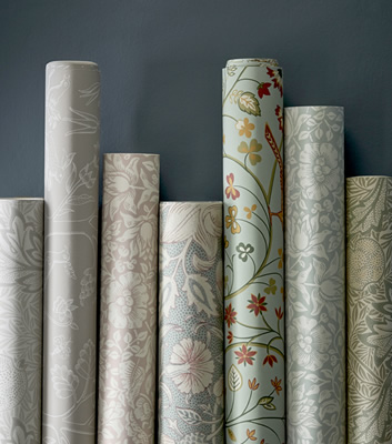 May Morris och William Morris & co Melsetter tapeter