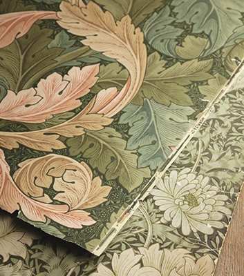 William Morris & Co historiska tapeter