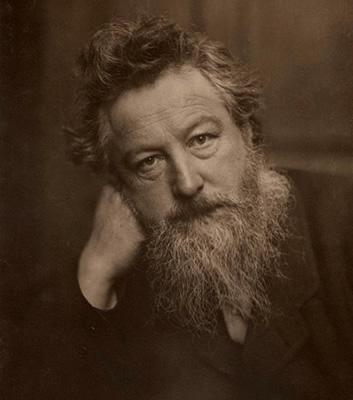William Morris porträtt 1800-talet