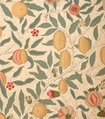 William Morris & Co tapeten Fruit