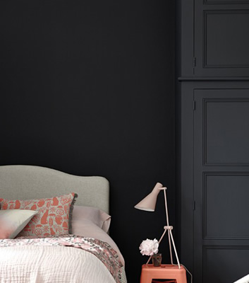 Little Greene Färg - Mörk Grå