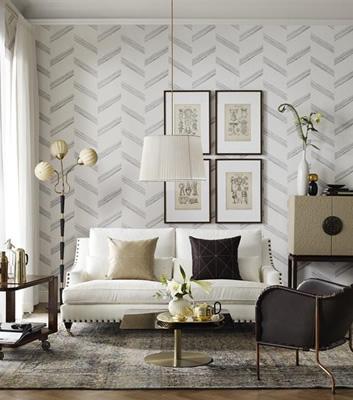 Art Deco Tapet - Kungsholm - Från Sandberg