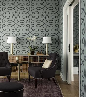 Art Deco Tapet - Rene - Från Sandberg