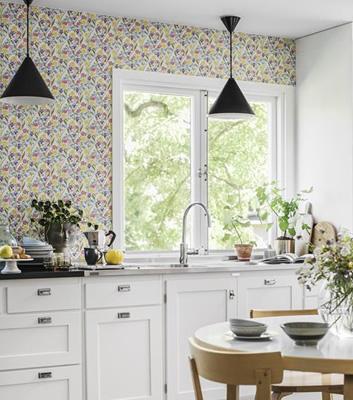 Kökstapet - Juniflora - Från Sandberg