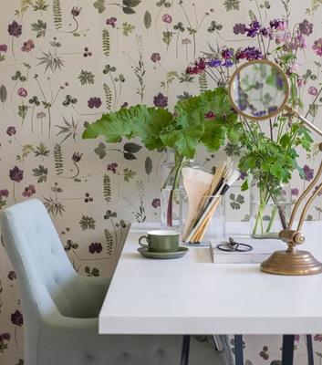 Blommig tapet - Botanica - Från Emma Von Brömssen