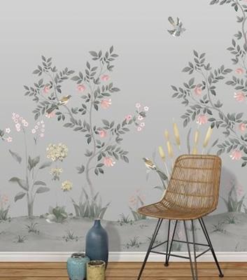 Blommig tapet - Chinella - Från Tres Tintas