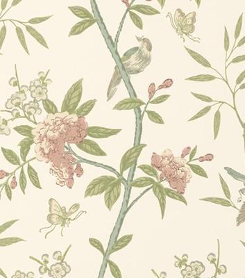Blommig tapet - Peony & Blossom - Från Baker