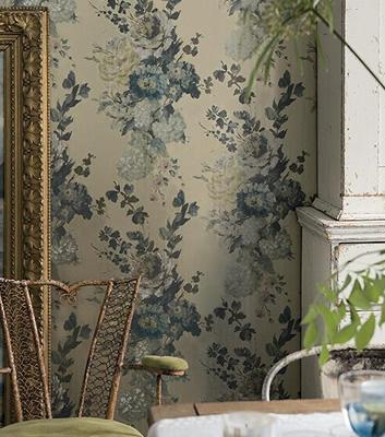 Blommig tapet - Seraphina - Från Designers Guild