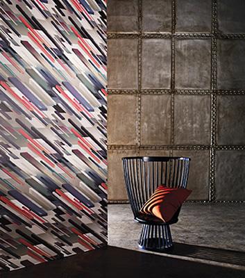 Grafisk Tapet - Cubiste - Från Osborne & Little