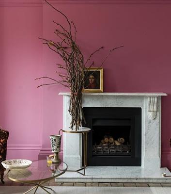 Rosa färg - RangWali 296 - Från Farrow & Ball