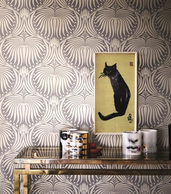 Tapet till hall - The lotus papers - Från Farrow & Ball