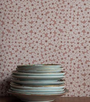 Småblommig tapet - Topplista - Flower shower från Långelid