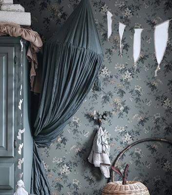 Småblommig tapet - Sandra - Från Sandberg