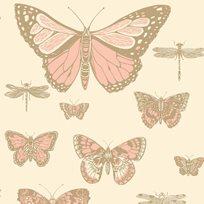 Cole & Son Butterflies & Dragonflies Tapet