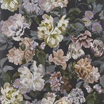 Designers Guild Delft flower Charcoal Tapet